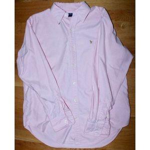 Ralph Lauren Sport pink collared button up